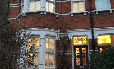 Fiji Tier on Tier Shutters throughout House in Sidcup, Kent
