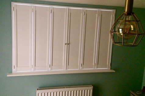 Solid Shutters for Home in Hanwell, West London