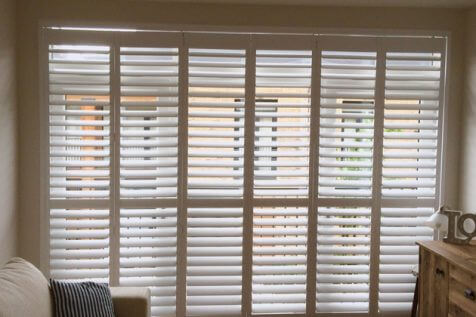 Track System Shutters for Home in Crystal Palace, South London