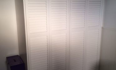 Wardrobe Door Shutters for Loft Conversion in Brixton, South West London