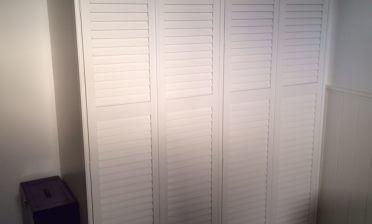 Wardrobe Door Shutters for Loft Conversion in Brixton, South West London