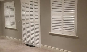 Shutters for Newly Decorated Bedroom in West Malling, Kent