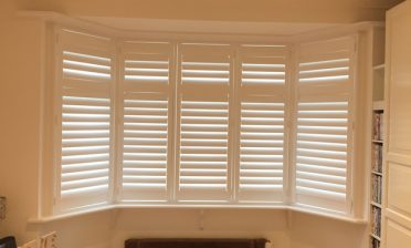 Full Height Shutters with mid rail for Home in West Wickham, Kent