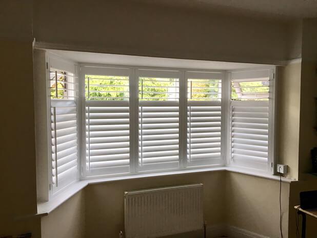 bay window full height shutters