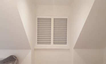 Loft Conversion Shutters with Integrated Blinds for Home in Putney, Wandsworth, London