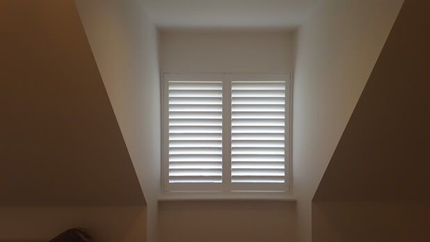 integrated blind shutters open