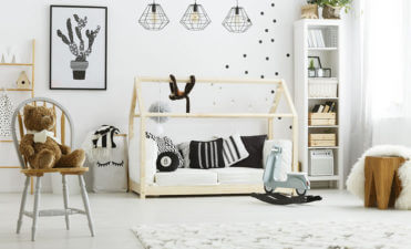 Stylish ways to decorate your child's bedroom