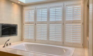 Shutters for luxury master en-suite in Beckenham, Kent