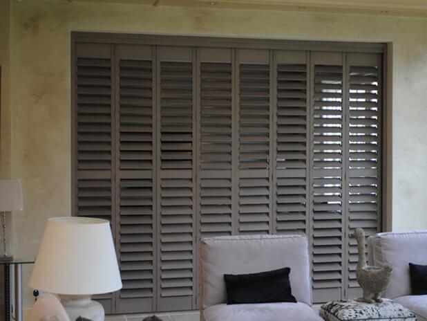 rustic grey shutters