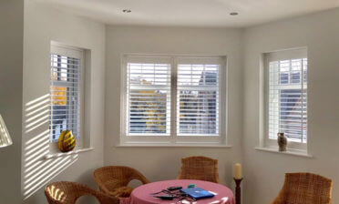 Living Room, Bedroom & Bathroom Shutters Installed in Esher, Surrey