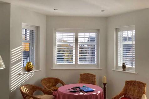Living Room, Bedroom & Bathroom Shutters Installed in Esher, Surrey