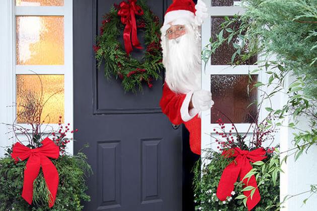 front door santa
