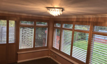 Garden Room Shutters for Property in Knockholt, Sevenoaks