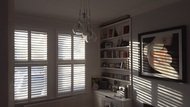 bexley antigua shutters living room