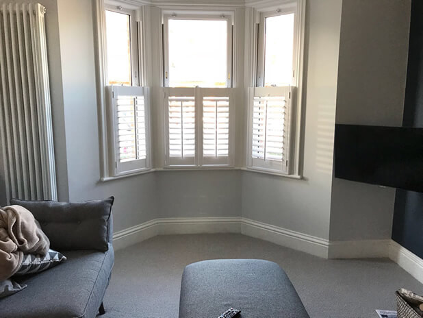 welling living room shutters