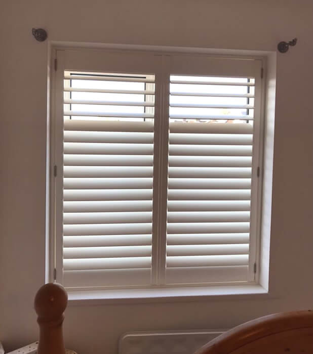 weybridge bedroom shutters