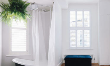 Shutters for the Khoollect HQ, owned by celebrity chef, writer and broadcaster Rachel Khoo!