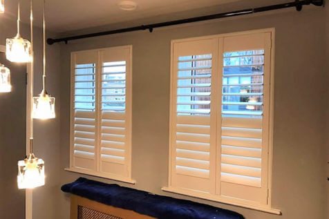 Kitchen, Living Room and Bedroom Shutters for Home in Beckenham, Kent