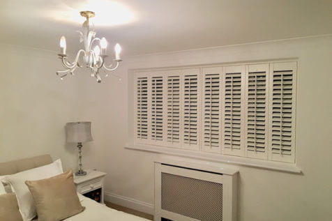 Window shutters installed for multiple rooms of property in Dartford, Kent