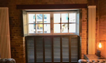 Living Room and Master Bedroom Shutters for Property in Gravesend, Kent