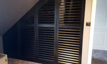 Special Shape Wardrobe Shutters for Property in Halstead, Essex