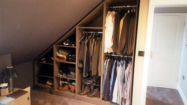 halstead wardrobe shutters open
