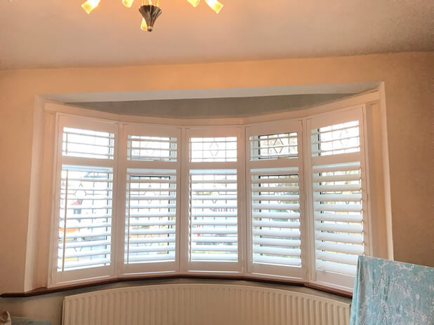 shutters ilford east london living room angled