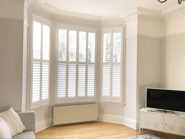 bay window shutters bromley