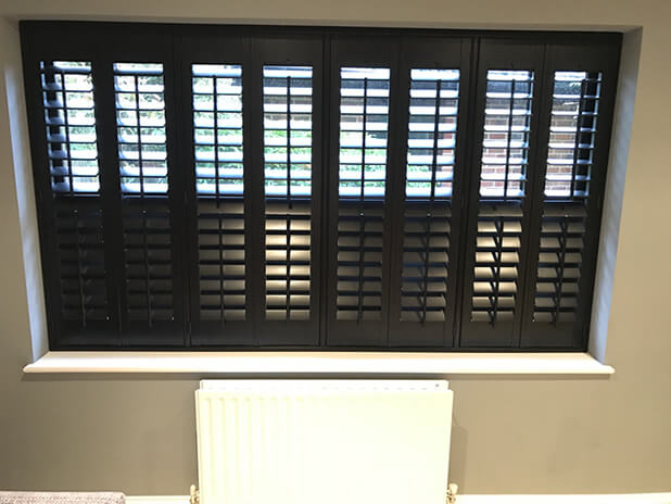 full height bromley shutters games room