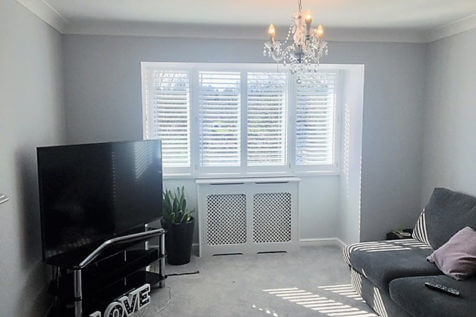 Full Height Bay Window Shutters for Property in Chelsea, London