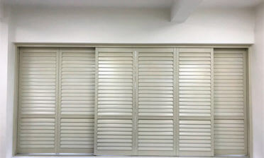 Bypass Track System Shutters Installed for London College in West London