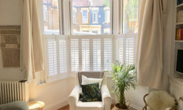 Living Room and Bedroom Café Style Shutters for Home in Leyton, Waltham Forest