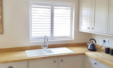 Full Height Plantation Shutters for House in Dartford, Kent