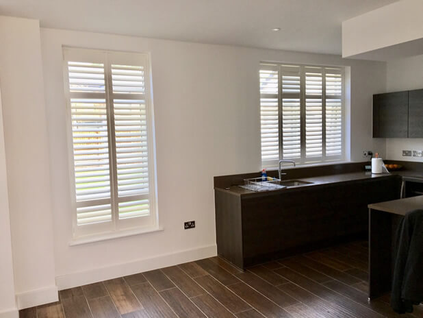 full height shutters keston bromley kitchen
