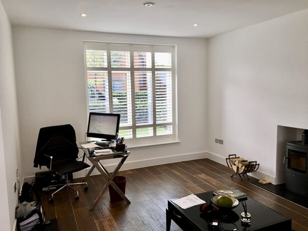 full height shutters keston bromley home office