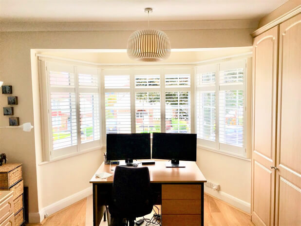 bay window shutters barnet home office