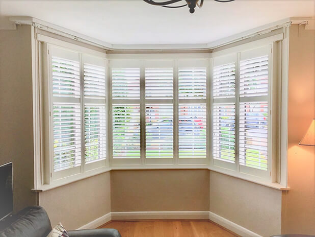 bay window shutters barnet living room