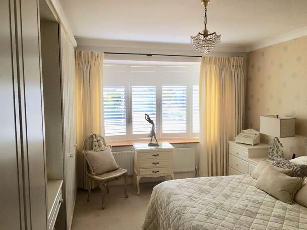 brentwood shutters bedroom
