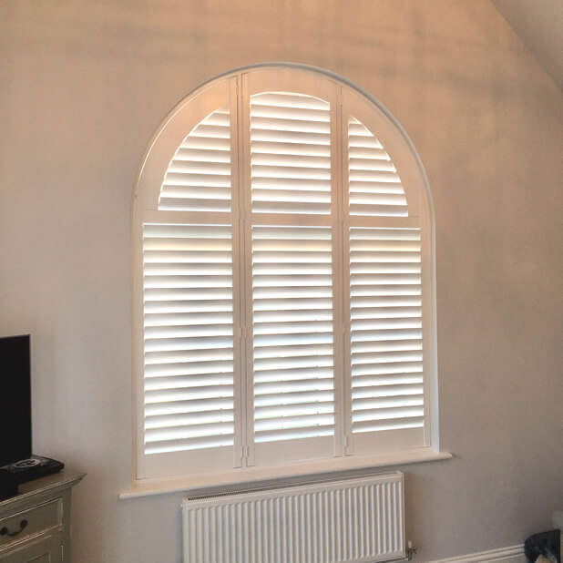 special shape shutters finished