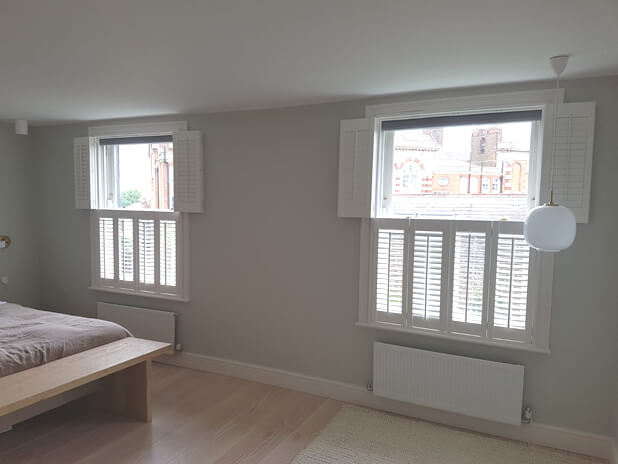 tier on tier bedroom shutters dulwich