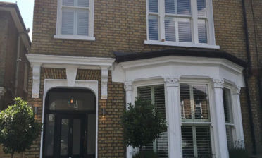 Tier on Tier Shutters for front and back of House in South Croydon