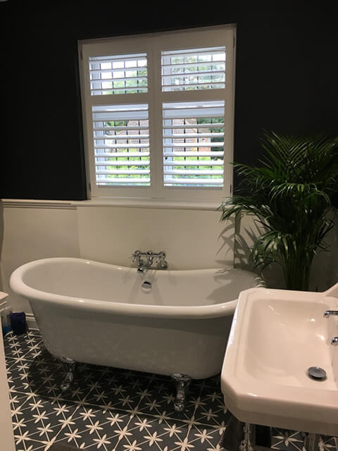 bathroom shutters swanley kent
