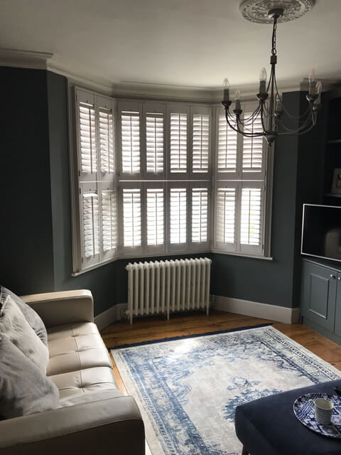 bay window tier on tier shutters hampstead london