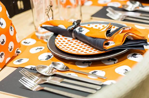 halloween cutlery