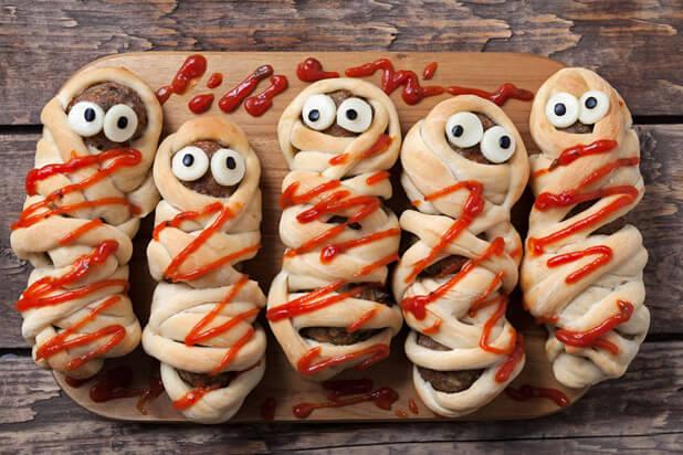 halloween sausages
