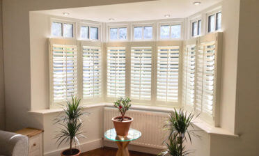 Bay Window Shutters for Home in Wilmington, Kent