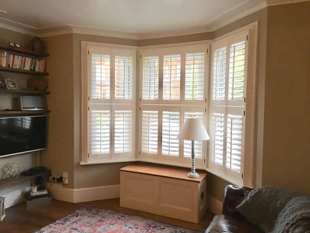 bay window shutters gravesent kent