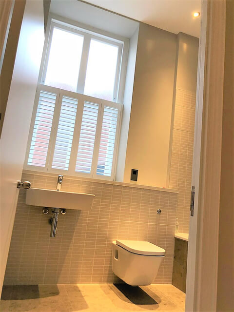 cafe style shutters bathroom dartford kent