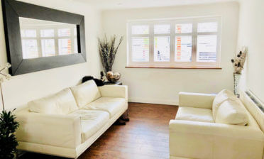Full Height Shutters for Living Room in Redhill, Surrey