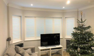 Full Height Shutters for multiple rooms of Home in Tunbridge Wells, Kent